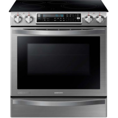 jcpenney.com | Samsung 5.8 Cu. Ft. Chef Collection Slide-In Induction Range with Flex Duo™  Oven