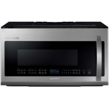 jcpenney.com | Samsung 2.1 Cu. Ft. Chef Collection Over-The-Range Microwave with Pro Clean Filter
