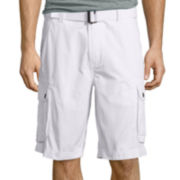 "Arizona 10½"" Inseam Belted Ripstop Cargo Shorts"