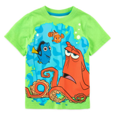 jcpenney.com | Disney Apparel by Okie Dokie® Short-Sleeve Finding Dory Tee - Toddler Boys