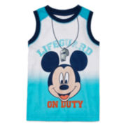 Disney Apparel by Okie Dokie® Mickey Tank Top - Preschool Boys 4-7