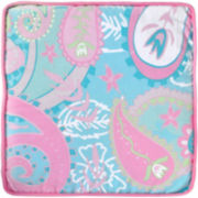 My Baby Sam Aqua Pixie Baby Throw Pillow