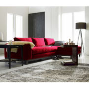 Calypso 2-pc. Chaise Sectional in Gibson Fabric