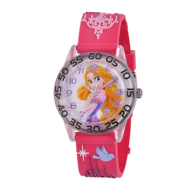 jcpenney.com | Disney Rapunzel Easy-Read Plastic Strap Watch
