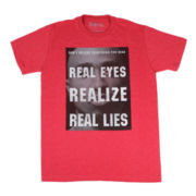 Tupac Real Eyes Graphic Tee