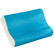 Comfort Revolution Wave Gel Memory Foam Contour Pillow