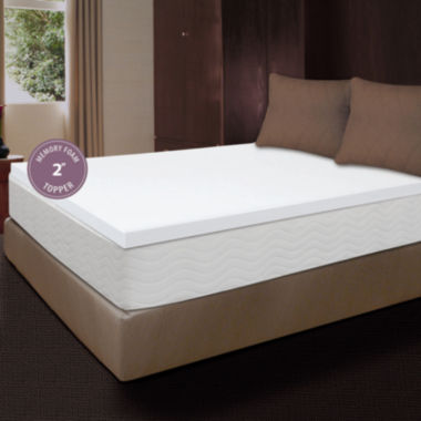 "jcpenney.com | Comfort Revolution 2"" Memory Foam Mattress Topper"