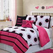 Amy Polka-Dot Comforter Set