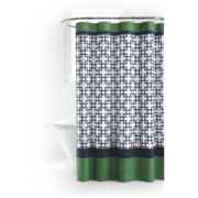 JCPenney Home™ Lattice Stripe Shower Curtain