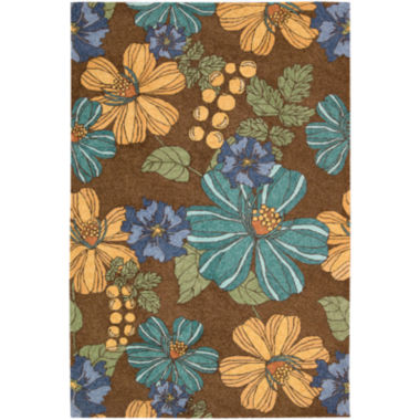 jcpenney.com | Nourison® Blooms Hand-Hooked Indoor/Outdoor Rectangular Rug