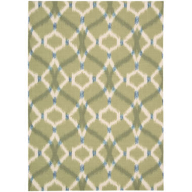 jcpenney.com | Waverly® Izmir Indoor/Outdoor Ikat Rectangular Rug