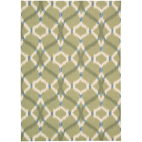 Waverly® Izmir Indoor/Outdoor Ikat Rectangular Rug