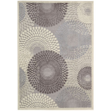 jcpenney.com | Nourison® Pinwheels High-Low Carved Rectangular Rug