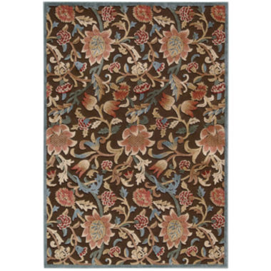 jcpenney.com | Nourison® Wilshire High-Low Carved Floral Rectangular Rug