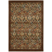 Nourison® Chesterfield High-Low Carved Rectangular Rugs