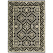 Nourison® Milford High-Low Carved Rectangular Rug