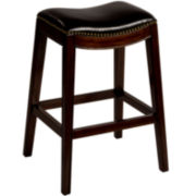 Elsa Counter-Height Backless Barstool