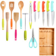 Simplemente Delicioso 14-pc. Knife and Tool Set