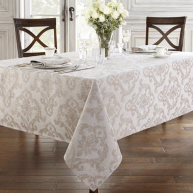 jcpenney.com | Marquis by Waterford® Corbel Damask Tablecloth