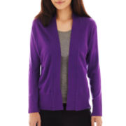 Liz Claiborne® Shawl-Collar Cardigan Sweater - Petite