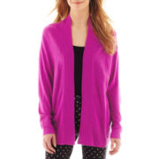 Liz Claiborne Shawl-Collar Cardigan Sweater - Petite