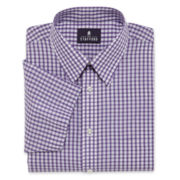 Stafford® Short Sleeve Broadcloth Dress Shirt