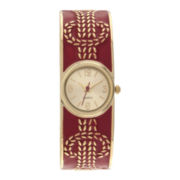 Womens Nautical Rope Bangle Watch