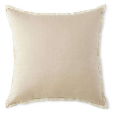 jcpenney.com | JCPenney Home™ Cotton Duck Solid Decorative Pillow