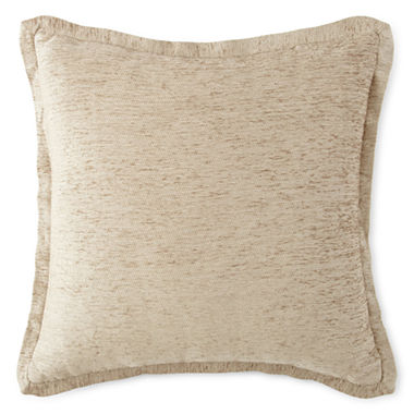 Jcpenney Red Decorative Pillows : JCPenney Home Chenille Decorative Pillow - JCPenney