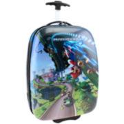 Nintendo Mario Kart Hard Shell Rolling Kids Suitcase