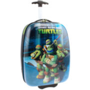 Nickelodeon Teenage Mutant Ninja Turtles Hard Shell ABS Kids Rolling Suitcase
