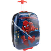 Marvel Spiderman Hard Shell ABS Rolling Kids Suitcase