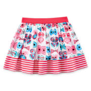 Okie Dokie® Print Skort - Preschool Girls 4-6x