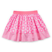Okie Dokie® Print Skort - Toddler Girls 2t-5t
