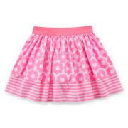 Okie Dokie® Print Skort - Toddler Girls 2t-5t