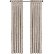 Queen Street® Antonia 2-Pack Jacquard Curtain Panels
