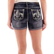 ZCO Embellished Back Pocket Denim Shorts