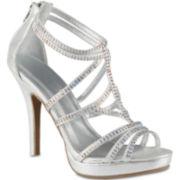 Call It Spring™ Chloe Strappy Rhinestone Sandals