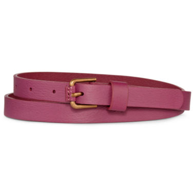 jcpenney.com | jcp™ Leather Skinny Belt