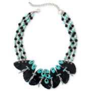 Aris by Treska Statement Bib Necklace
