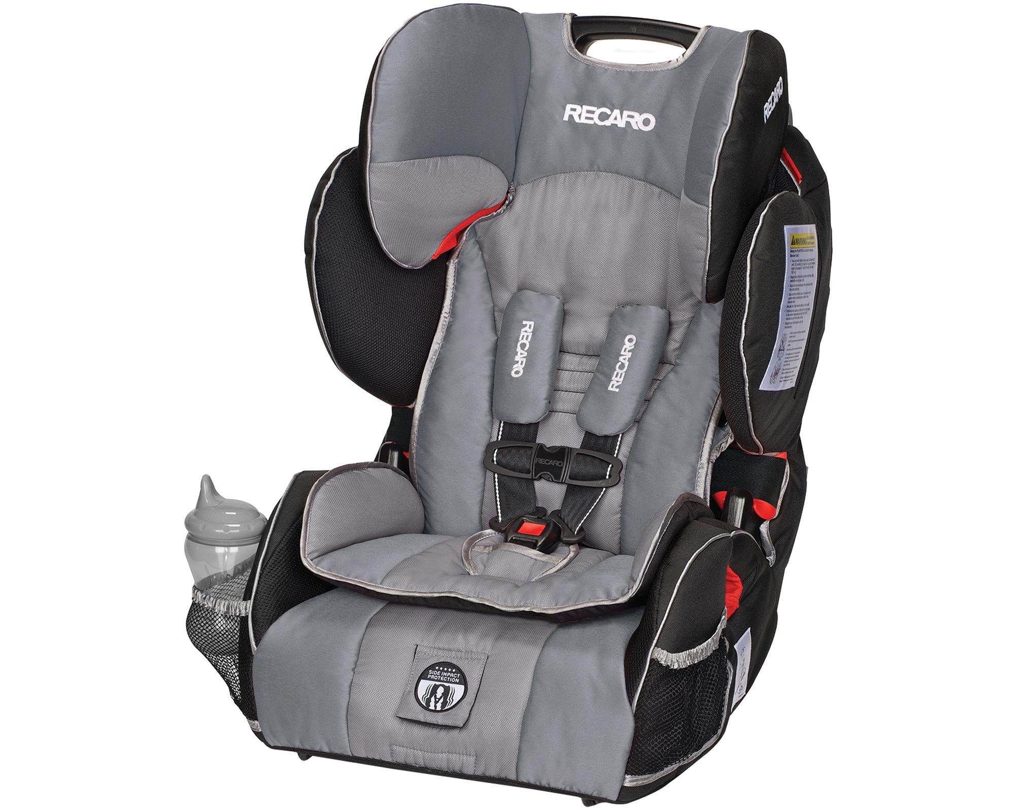 Recaro Performance Sport Harness Booster Car Seat - Haze