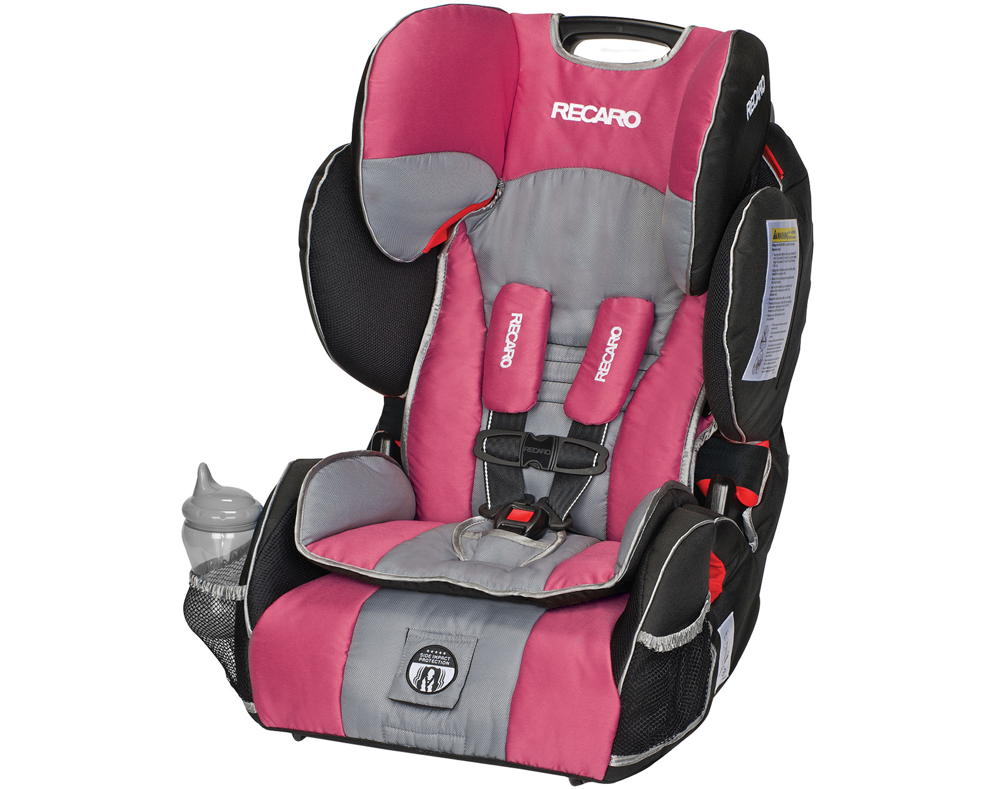 Recaro Performance Sport Harness Booster Car Seat - Rose