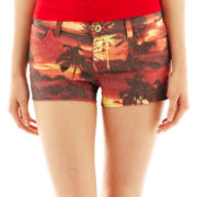 i jeans by Buffalo Tropical Print Shorts