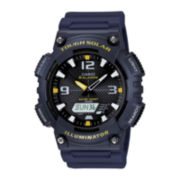 Casio® Mens Analog-Digital Solar Watch AQ-S810W-2AV