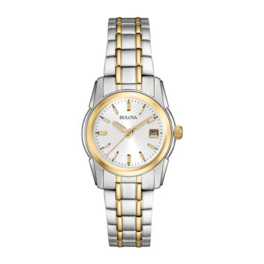jcpenney.com | Bulova® Womens Gold-Tone Bracelet Watch 98M105