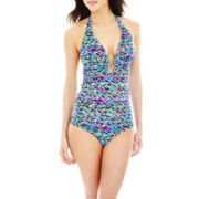 Bisou Bisou® Halterkini Swim Top or Hipster Bottoms