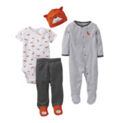 Carter's® Fox 4-pc. Layette Set - Boys newborn-9m