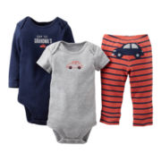 Carter's® Car 3-pc. Turn-Me-Around Set - Boys newborn-24m
