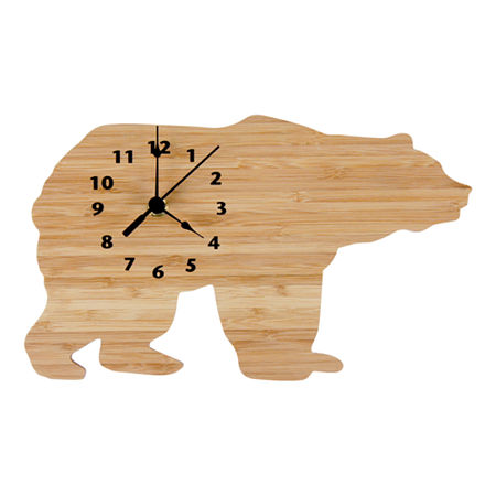 Trend Lab Northwoods Bear Clock