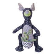 Trend Lab® Perfectly Preppy Kangaroo Stuffed Animal